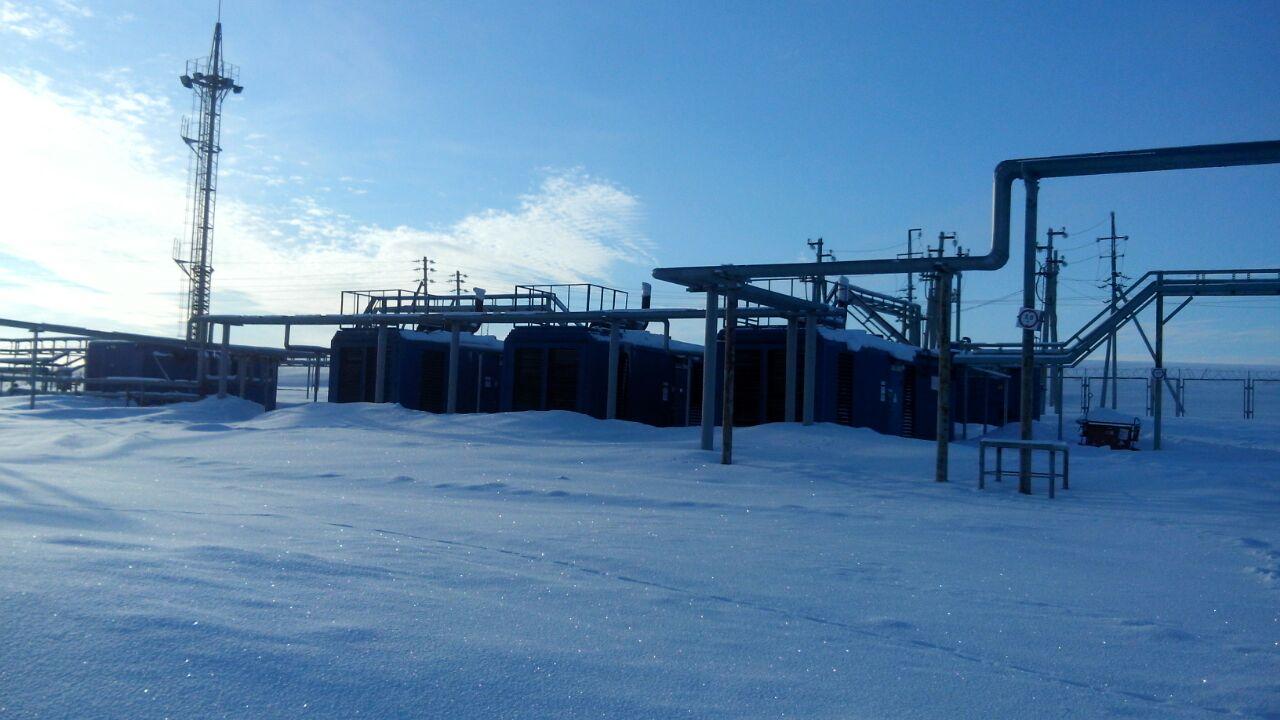 0.93MWe WAUKESHA VGF24GL [x3] Used Pre-owned Power plant Associated petroleum gas 2009y 400V 50Hz
